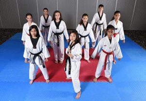 Durham Taekwondo high performance leadership team